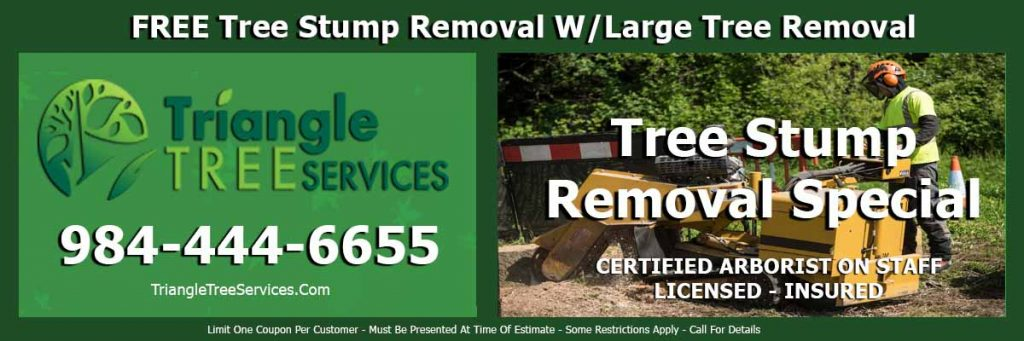 Coupons Special Deals Durham Tree Removal Service Company Triangle Tree Services